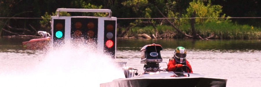 First Quadriplegic to Race Drag Boat